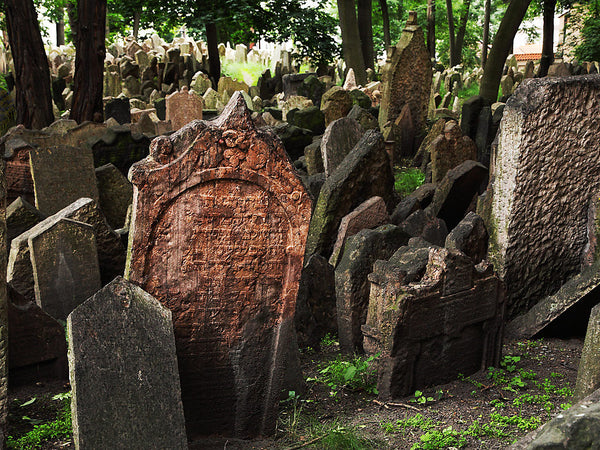 Old Jewish Cemetery- Prague, Czech Republic