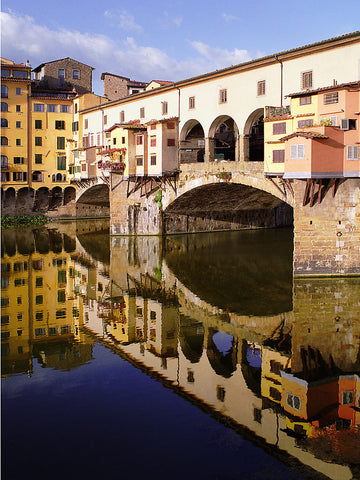 Ponte Vecchio Reflections - Florence, Italy