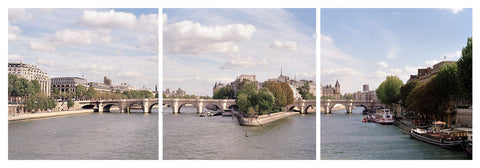 Seine Trilogy- Paris, France