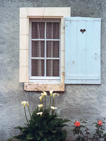 Shutter With Heart- Provence, France