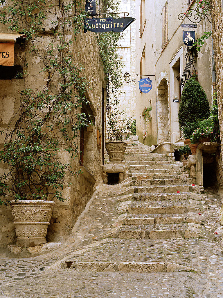European Photo Of Stone Stairs In St Paul De Vence