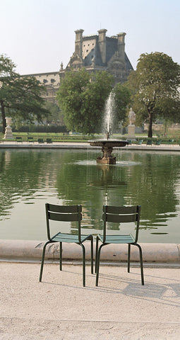Two Chairs, Tuileries Gardens- Paris, France