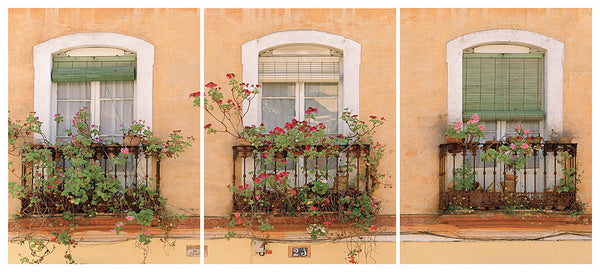 Three Balconies Trilogy- Seville(Jewish Quarter), Spain