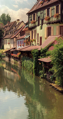 Canal Reflections- Colmar(Alsace), France