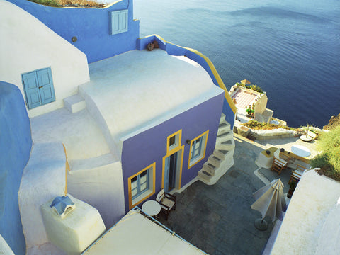 Greek Cottage- Santorini, Greece