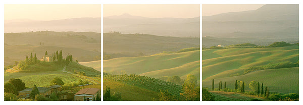 Tuscany Dawn Trilogy- near Pienza, Italy