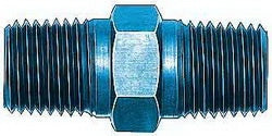 Male 1/8 NPT - Male 1/8 NPT aluminum union