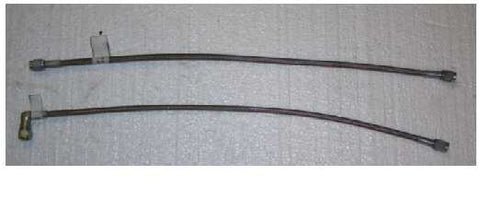 Brake Line Braided 14 Inches