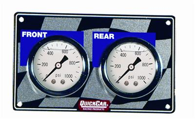 Brake Gauges. Horizontal Quick Car