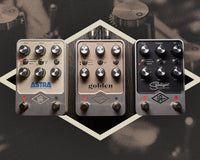 Universal Audio Reveals First Guitar Pedals with the UAFX Series