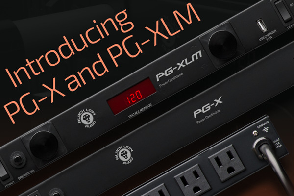 Introducing the New Black Lion Audio PG-X & PG-XLM Power Conditioners