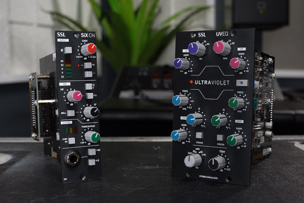 SSL UV EQ and SiX Channel: New 500-Series Analog Modules