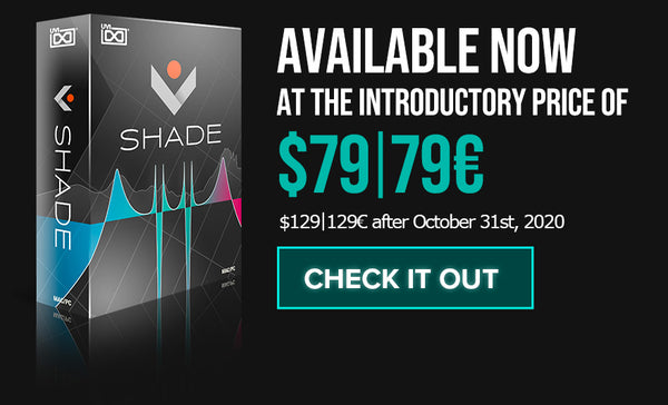 Shade is a next-gen advanced EQ, mix tool, and creative filter delivering 35 shapes, 9 modulators, and full multichannel support. Shade is a next-gen advanced EQ, mix tool, and creative filter delivering 35 shapes, 9 modulators, and full multichannel support.
