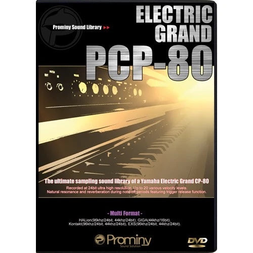 Prominy Electric Grand PCP-80 Virtual Instrument Software - eDelivery