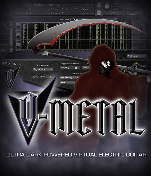 Prominy V-METAL Virtual Instrument Software - eDelivery