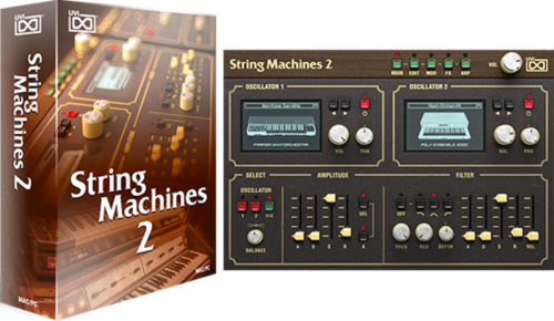 UVI String Machines 2  - Virtual Instrument Windows Mac AAX VST AU eDelivery