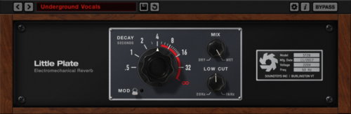 New SoundToys Little Plate Reverb Plugin Plug-In Software eDelivery Mac/PC