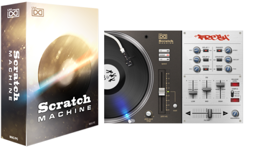UVI Scratch Machine Virtual Turntable Software Instrument - eDelivery