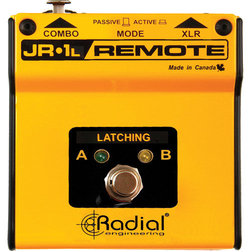 Radial Engineering JR1L Remote Latching Footswitch