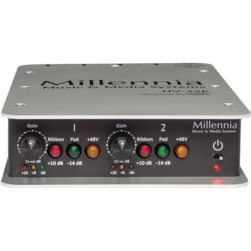 Millennia Media HV-32P Portable 2-Channel Microphone Preamplifier