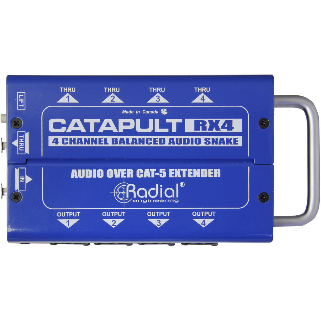 Radial Engineering Catapult RX4 Cat 5Snake for Audio/AES Routing (Receiver)