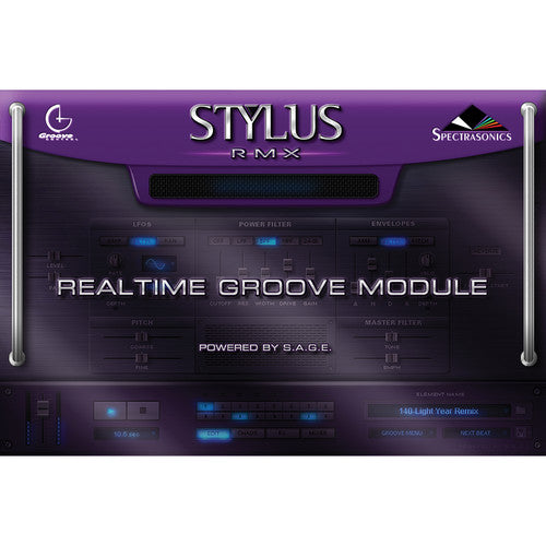 Spectrasonics Stylus RMX Xpanded - Realtime Groove Module Software (Boxed)