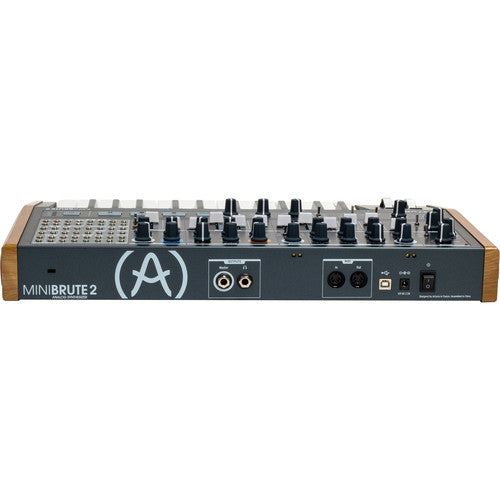 Arturia MiniBrute 2 Semi-Modular Monophonic Analog Synthesizer with 48-Point Patchbay