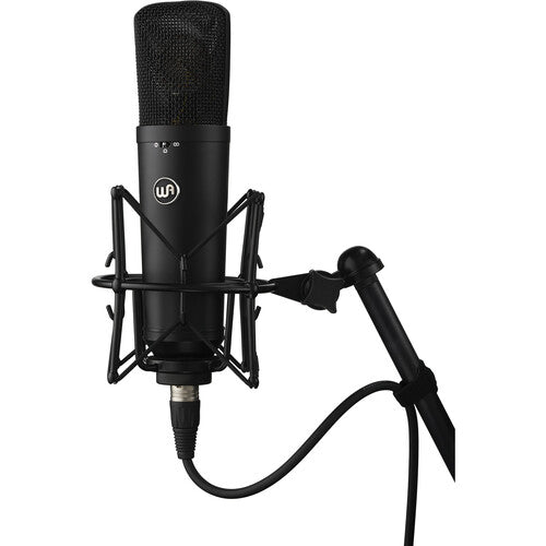 Warm Audio WA-87 R2 Multi-Pattern FET Condenser Microphone (Black)