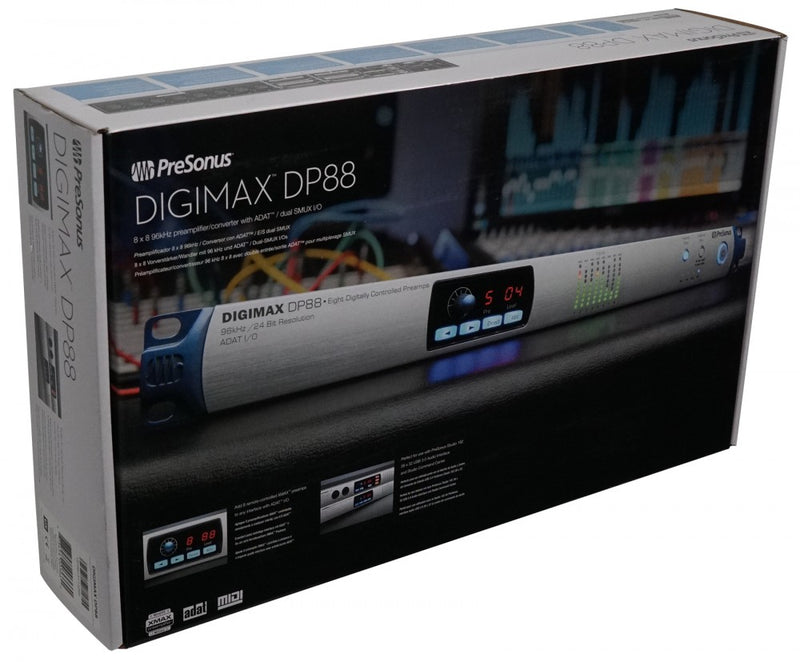 PreSonus DigiMax DP88 8-Channel A/D/A Converter with Remote Preamps