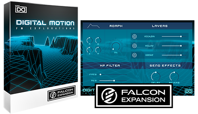 UVI Digital Motion Falcon Expansion Virtual Instrument AU AAX VST Mac PC
