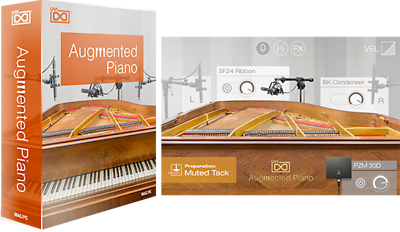 UVI Augmented PIano Virtual Instrument Windows Mac Plug-In UVI AU AAX VST