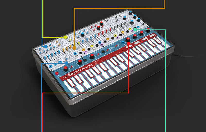 Arturia Buchla Easel V Virtual Semi-Modular Synthesizer Software - eDelivery