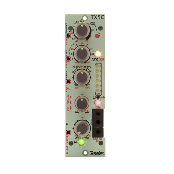 ToneLux TX5C Dynamics Compressor Module for 500 Series TX-240 Op