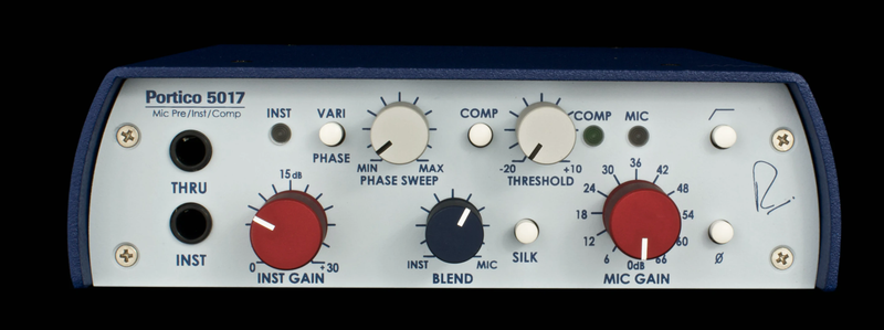 Rupert Neve Designs 5017 Mobile Pre / DI / Compressor with Vari-phase