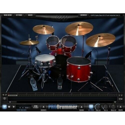 "EastWest East West PRODRUMMER 1 Mark ""Spike"" Stent Sample Library Software eDelivery"