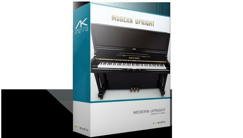 XLN Audio Addictive Keys Modern Upright: Virtual Piano Mac/PC Virtual Instrument VST AU AAX