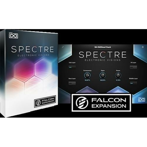 UVI Spectre Electronic Visions Falcon Expansion AU, AAX, VST Virtual Instrument eDelivery
