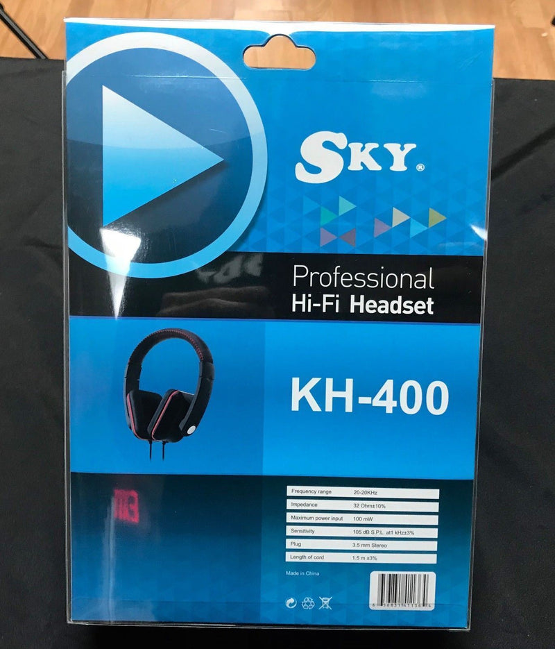 New Sky KH-400 Professional Hi-Fi Stereo Music Audio DJ Headphones (2)