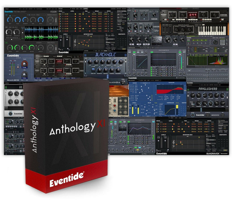 Eventide Anthology XI Mixing Mastering Multi-Effect Plugin Software Bundle - eDelivery