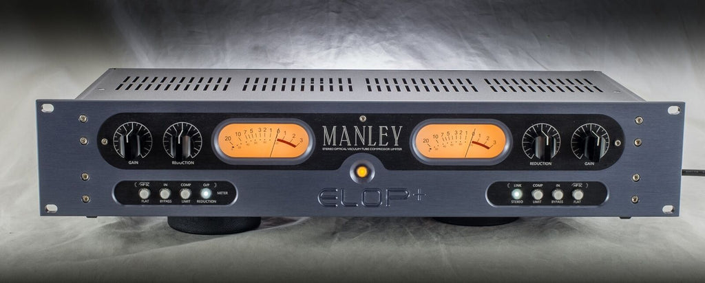 New Manley Labs ELOP+ Stereo Limiter Compressor