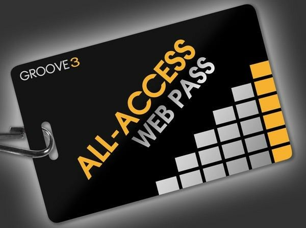 "Groove 3 Training The ""All-Access Pass"" - 1 Full Year of Training Videos"