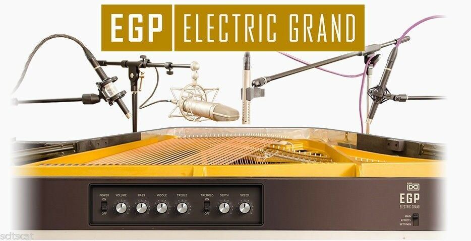UVI EGP Electric Grand Piano Virtual Instrument PC Mac Plug-In AAX AU VST