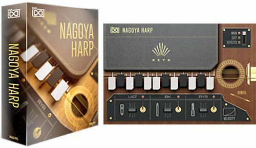 UVI Nagoya Harp Virtual Instrument AU AAX VST Stand Alone Mac eDelivery