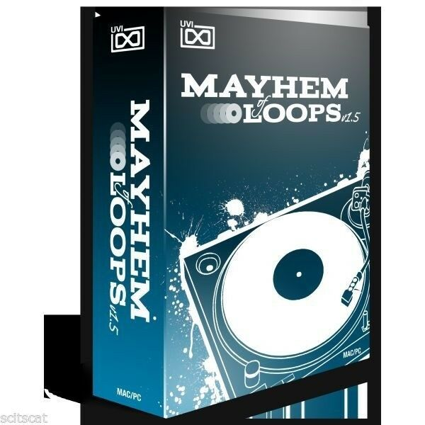 UVI Mayhem of Loops 1.5 - 8000 -  6.86 Gigs - VST AU AAX MAC PC