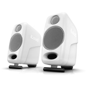 IK Multimedia iLoud Micro Monitors (Pair) Ultra Compact Studio Speakers White