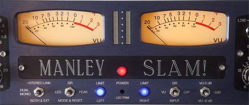 New Manley Labs SLAM! Stereo Limiter and Microphone Preamp (FET / Class A)