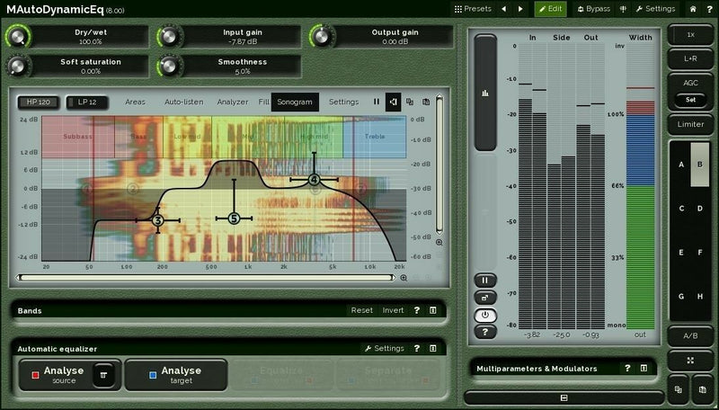 Melda Production MAutoDynamicEq Dynamic Equalizer Plugin Software - eDelivery