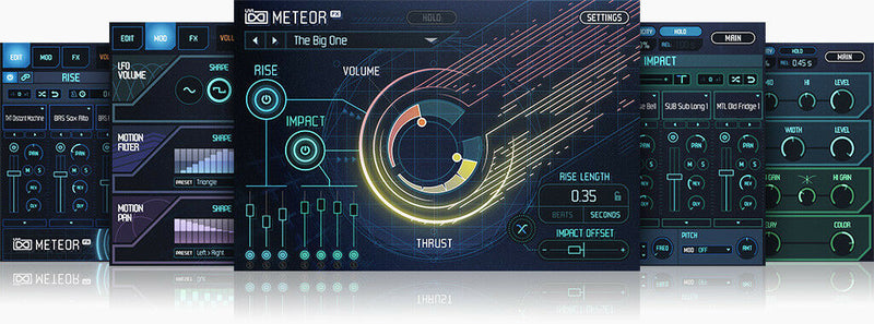 UVI Meteor FX Cinematic Sound Effect Virtual Instrument Software - eDelivery