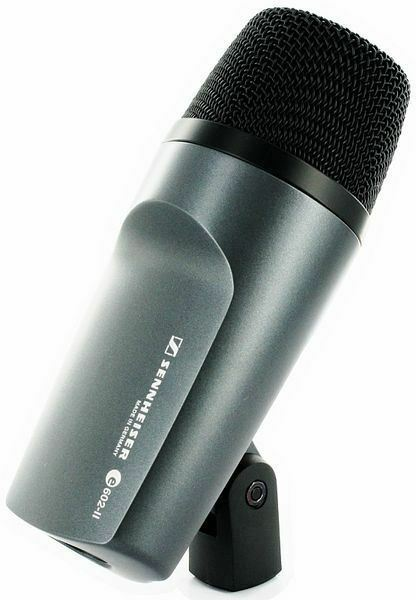 Sennheiser e602 II Cardioid Mic Drums, Brass, Percussion plus Free XLR Cable