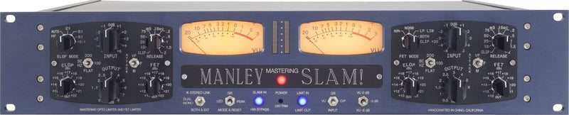 New Manley Labs  SLAM! Mastering Version Tandem ELOP and FET Compressors